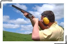 Clay Pigeon Shooting, Brighton, Sussex